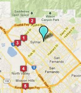 sylmar california map sylmar ca hotels motels see all discounts