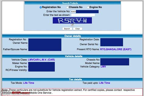 Search Car Number To Address Find Car Owner Using The Registration Number Instantly Via Sms Page 14 Team Bhp