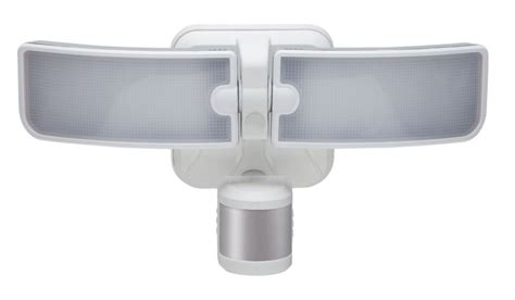 led security light home depot defiant 180 degree outdoor white led blade motion security