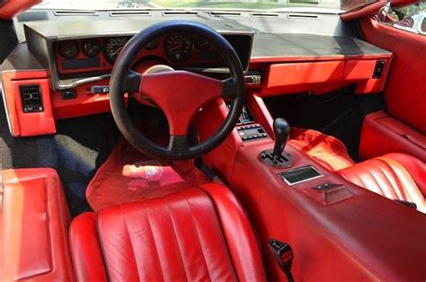 classic lamborghini interior car of the day classic car for sale 1989 lamborghini