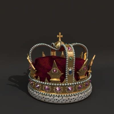 king crown brushes for photoshop 187 designtube creative 3d model king crown