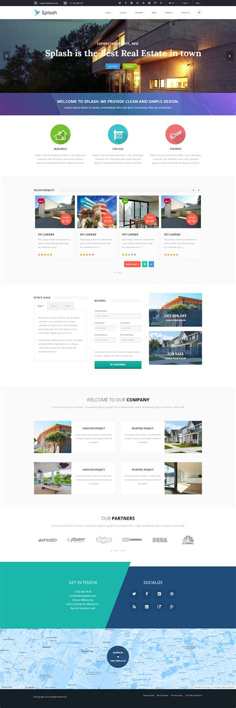 bootstrap splash page template splash bootstrap responsive multi purpose html5 by