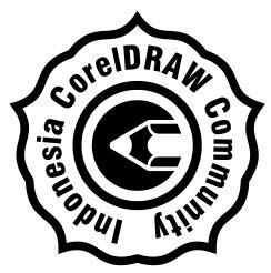 membuat logo komunitas cara membuat stempel dengan polygon tool coreldraw