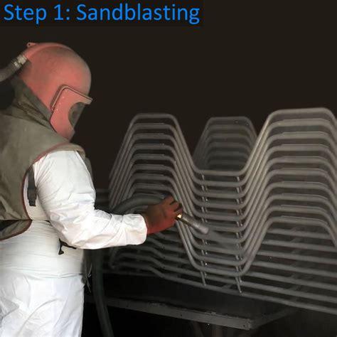 Sandblasting Patio Furniture by Patio Furniture Refinishing Outdoor Furniture