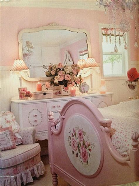 vintage rose bedroom ideas pinterest image 1601229 by lovely jessy on favim com
