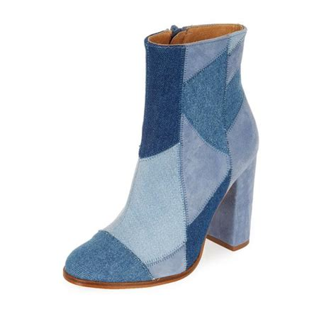 Patchwork Boots - patchwork ankle boots endource