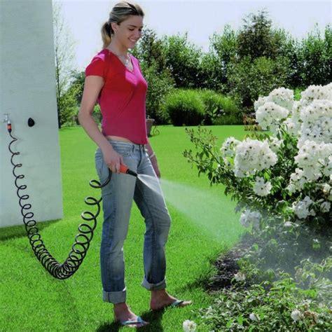 tubo giardino tubo a spirale da giardino claber 9034