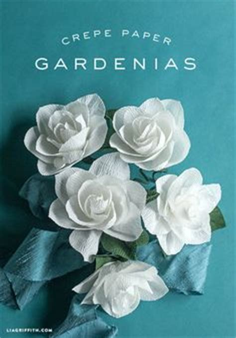 gardenia paper flower tutorial pinterest the world s catalog of ideas