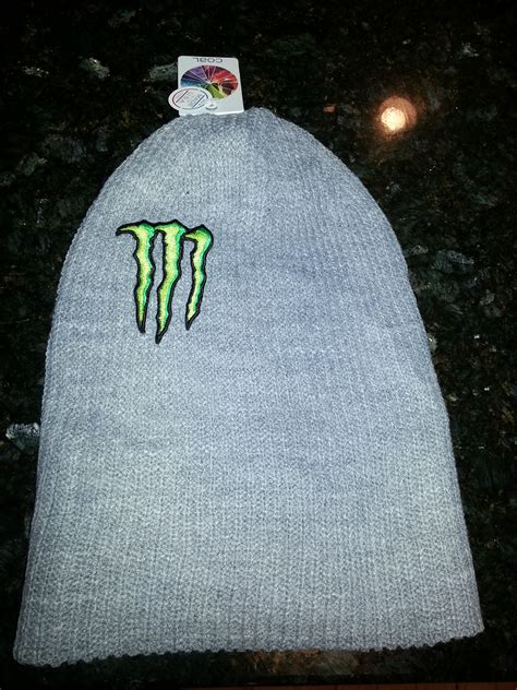 Monster Energy Gear Giveaway - monster energy athlete beanie by coal sell and trade newschoolers com
