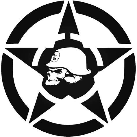 jeep hood metal mulisha star vinyl decal sticker skull