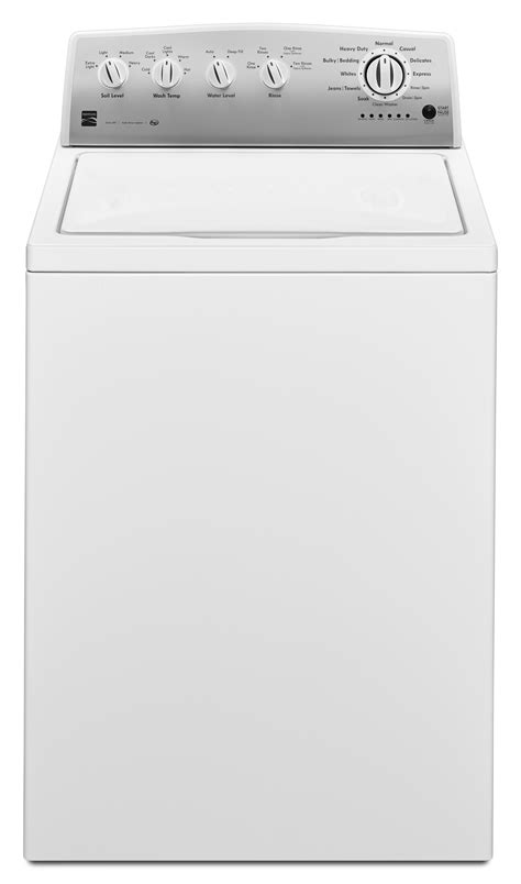 top load washer with agitator kenmore 22242 3 6 cu ft agitator top load washer white shop your way shopping