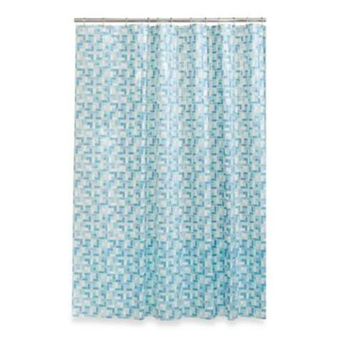 glass shower curtain stained glass shower curtain bed bath beyond