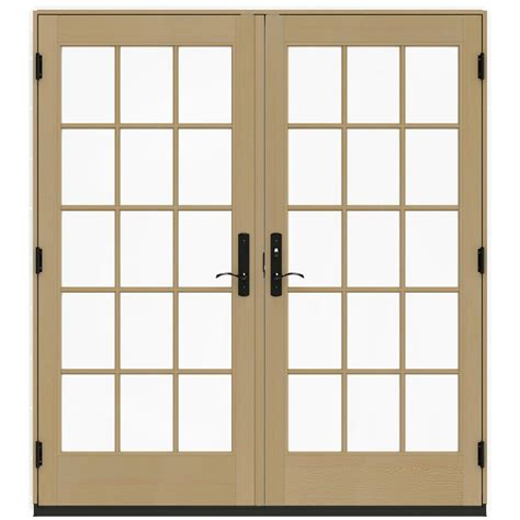 Ashworth Patio Doors Ashworth 72 In X 80 In White Lite Prehung Right Inswing Patio Door 5014034 The Home
