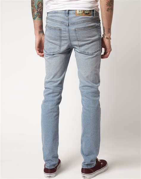 cheap light blue skinny jeans cheap monday jeans mens bbg clothing