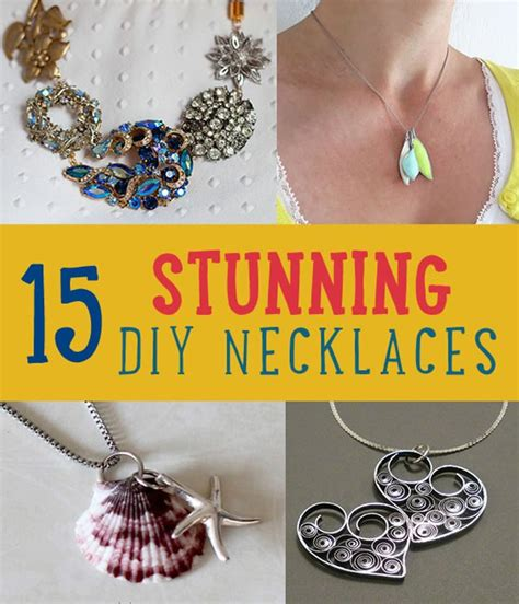 diy necklace craft ideas diy projects craft ideas how to