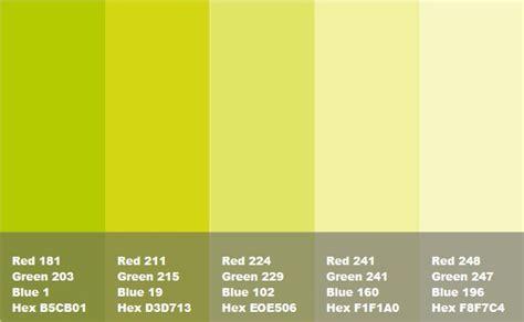 verde  varie tonalita