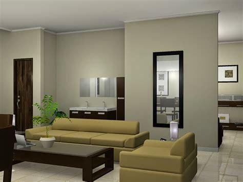 kombinasi warna cat  ruang tamu minimalis design