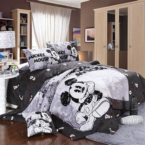 Cute blue comforters cute mickey mouse bedding for