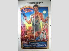 BIG TROUBLE IN LITTLE CHINA, Original Kurt Russel Movie Poster James Bond Poster Art