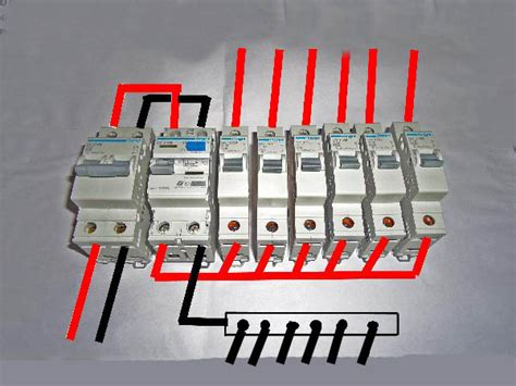 dual rcd consumer unit wiring diagram circuit diagram