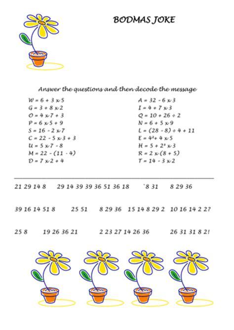 bodmas worksheets year 7 bodmas by nuggett uk teaching resources tes