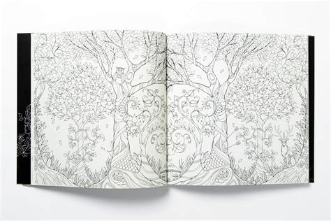 secret garden coloring book paper source artist goes outside the lines with coloring books for