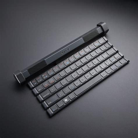 Speaker Keyboard wireless rollable keyboard bluetooth speaker gotek