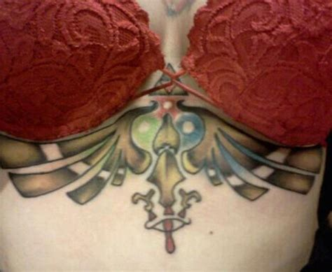 under the boob tattoo 51 breast tattoos for amazing ideas