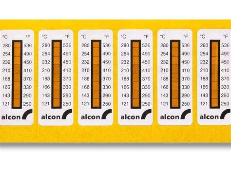 Temperature Stickers
