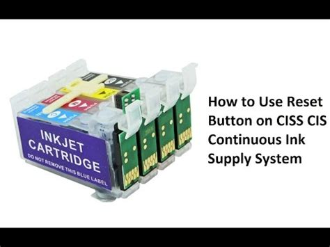 how to reset epson 1390 cartridge problem with epson printer 1390 1400