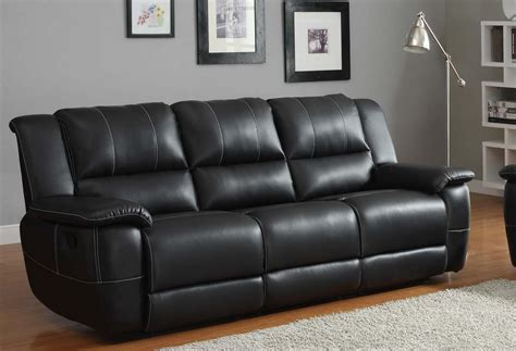 Living Room With Black Leather Sofa How To Choose Black Sofa For Living Room