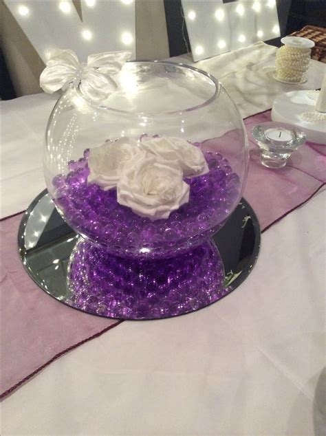 bowl centerpieces for tables 17 best ideas about fish bowl centerpieces on