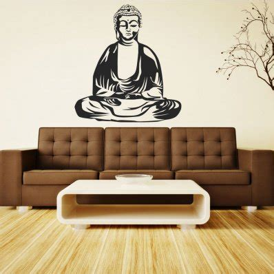 buddha wall sticker wallstickers folies buddha laptop skins