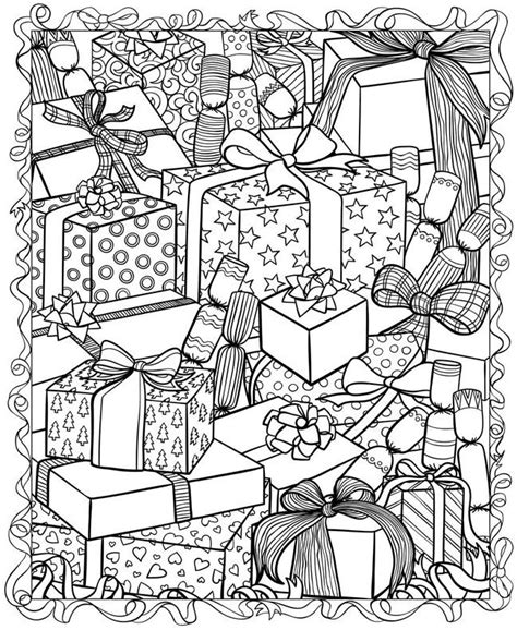 printable christmas adult coloring pages christmas adult coloring pages coloring home