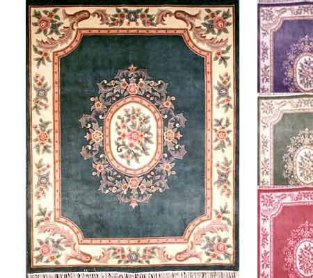 royal palace rug royal palace handmade 7 6 quot x10 wool aubusson rug qvc