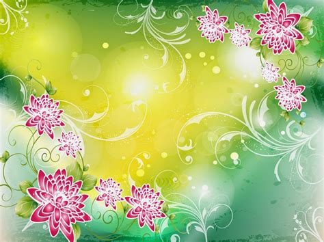 Background Design With Flowers | flowers background designs many flowers