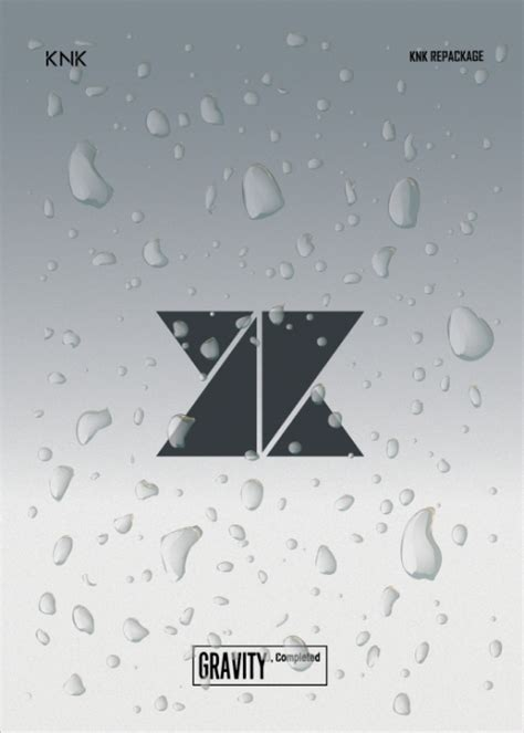 knk gravity completed 2nd single album repackage