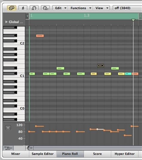 drum pattern logic programming rhythmical gates in logic pro