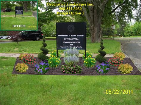 commercial landscape design madecorative landscapes inc