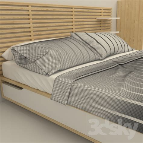 futon bettgestell 160x200 3d models bed ikea mandal