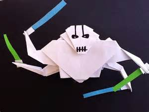 General Grievous Origami - my new origami general grievous origamiyoda