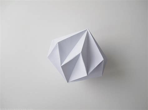 How To Make Diamonds Out Of Paper - paper diamonds design and form