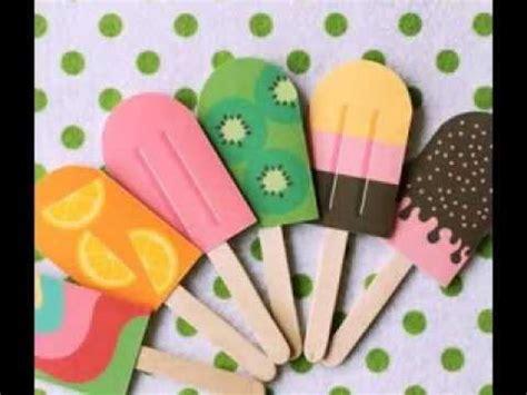 Summer Paper Crafts - summer paper crafts scrapbook paper idea