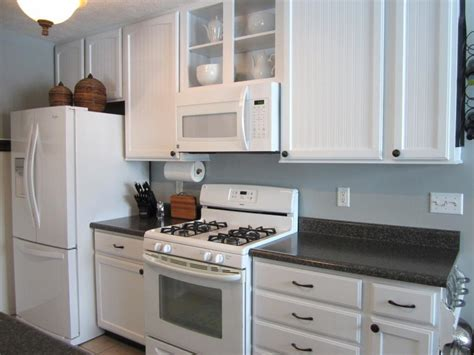 Cabinet Paint That Matches White Kitchen Appliances Home White Kitchen Cabinets White Appliances