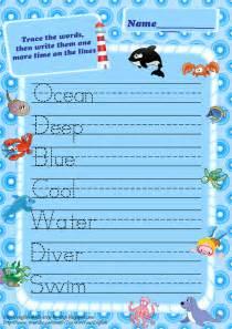 ocean animals worksheets