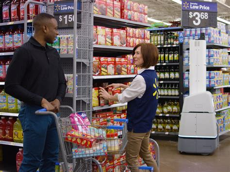 robot walmart walmart store robot program expands business insider