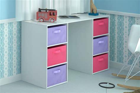 children storage kids desk toy storage 6 canvas drawers for children s