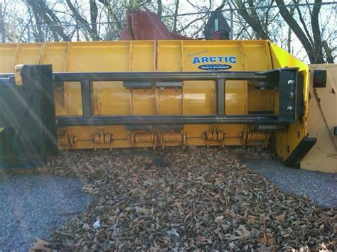 sectional snow pushers arctic sectional pusher 12ft ld with bent frame plowsite
