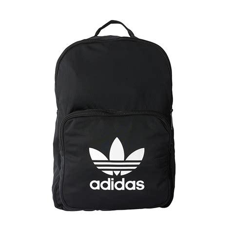 Tas Ransel Adidas Classic Tricot Backpack Black Bk7156 Original Bnwt adidas originals bp cl tricot black hlstore highlights
