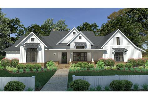 modern farmhouse plan 2 393 square 3 bedrooms 2 5